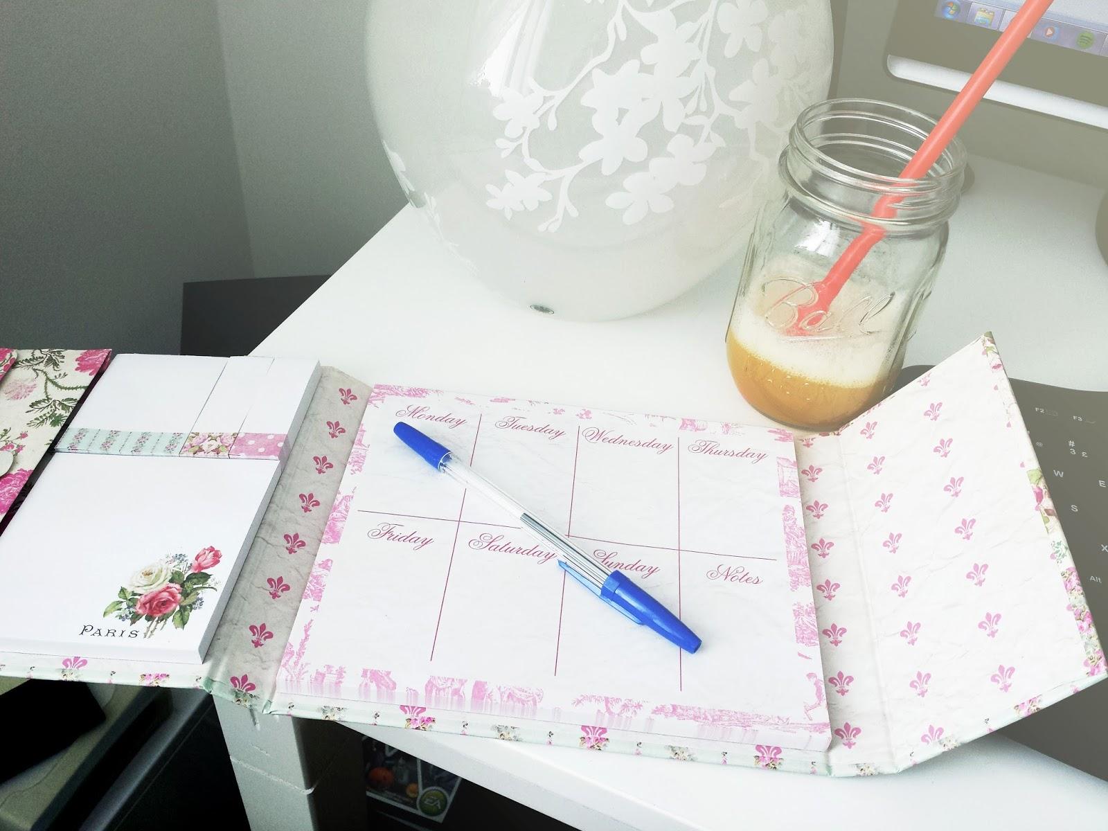 weekly planner, cute, vintage style, tiu bombshell spell