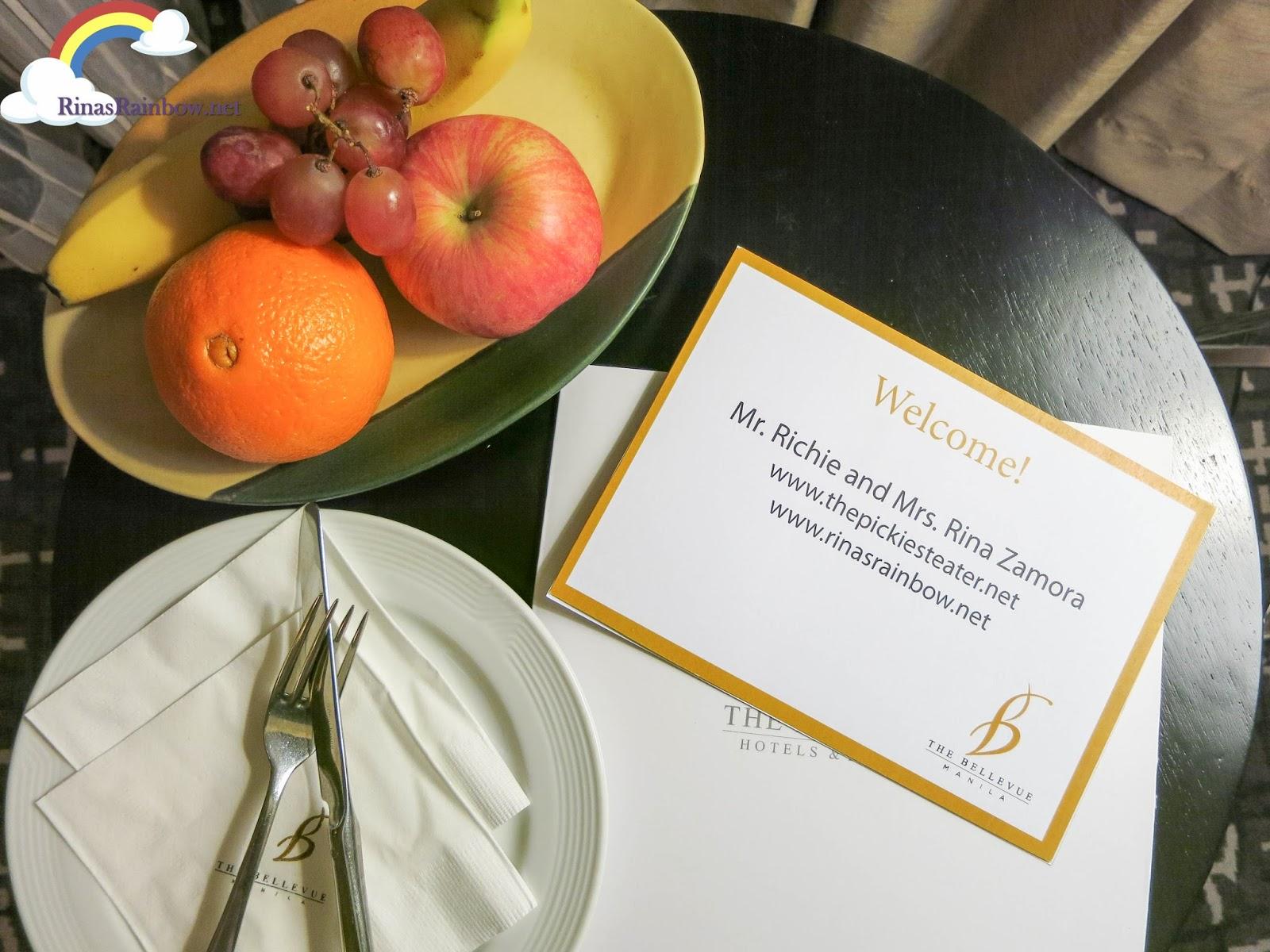 hotel review bellevue hotel manila