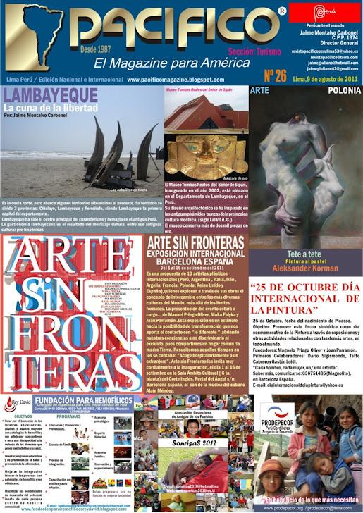 Revista Pacífico Nº 26 Turismo