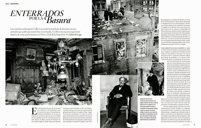 """Doctorow, E. L. Doctorow, """"El País Semanal"""", """"Homer y Langley"""""""