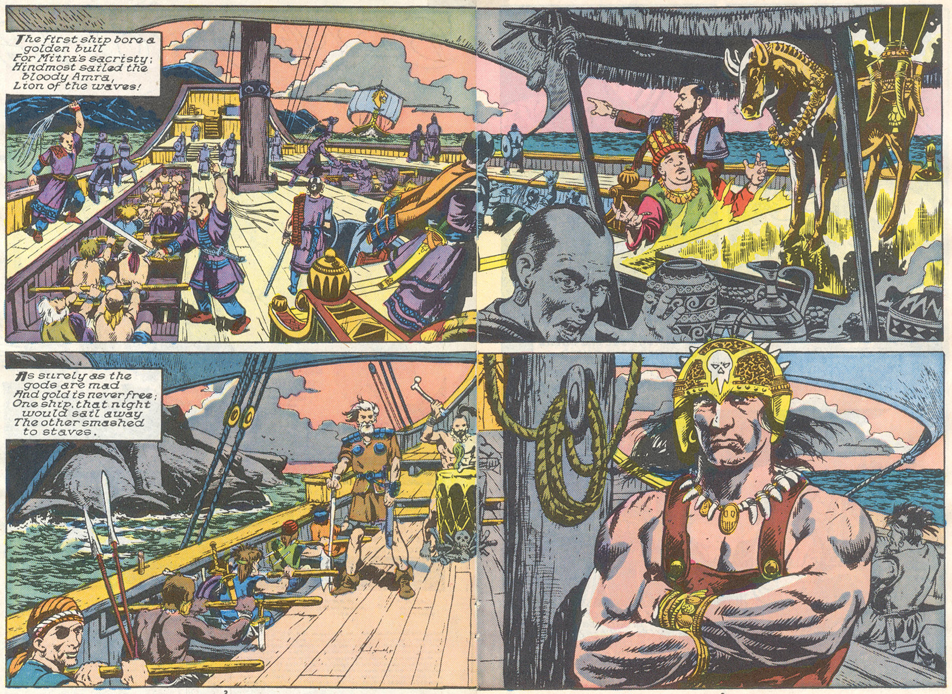 Conan the Barbarian (1970) Issue #221 #233 - English 3