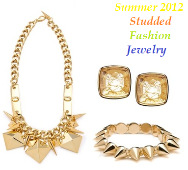 studded fashion jewelry