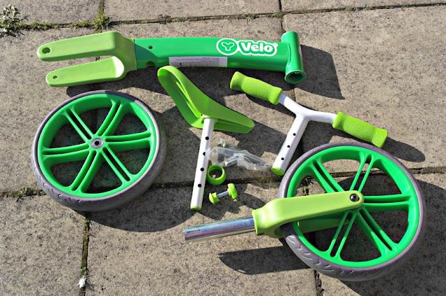 YVolution Velo Balance Bike What's in the Box