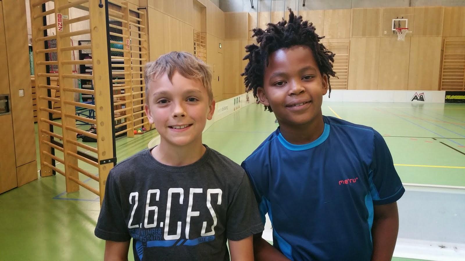 Mathias und Jonas
