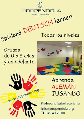 alemán, clases, formación, idiomas deutsch lernen, Oropéndola, Guadalajara