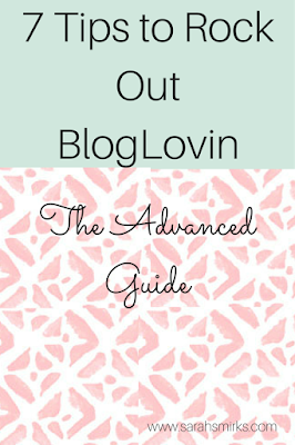 Grow your Bloglovin followers by saving blog posts, using great images, write fun titles, & more | Sarah Smirks
