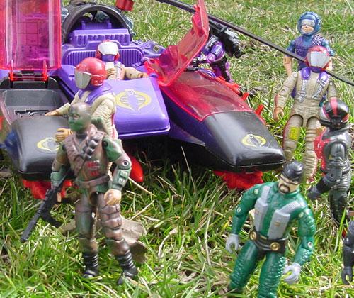 1987 Gyro Viper, Mamba, 2000 Firefly, 1989 Aero Viper, 1986 Strato Viper, 1985 Tele Viper