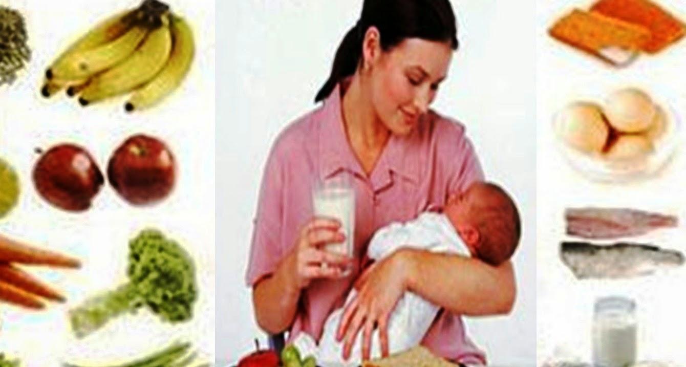 12 Makanan Sehat Untuk Ibu Menyusui