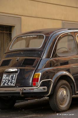 Rome - Fiat 500