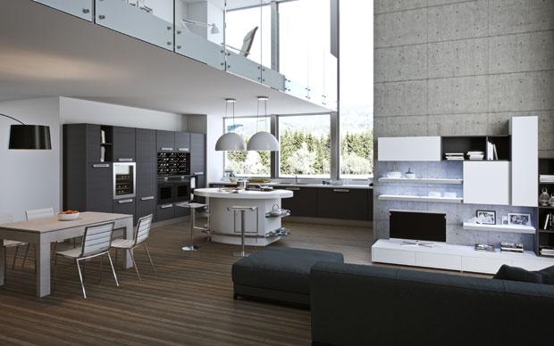 Focus cucina tra hi tech e natural style karmarchitettura for Arredamento hi tech