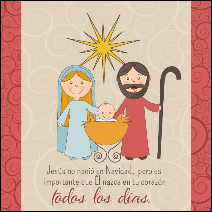 Tarjetas navidenas cristianas frases de navidad - Tarjetas navidenas cristianas ...