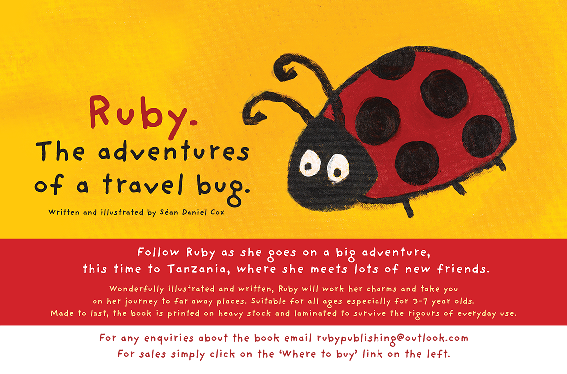 Ruby. The adventures of a travel bug.