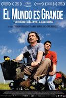 Cartel de la película El mundo es grande y la felicidad está a la vuelta de la esquina
