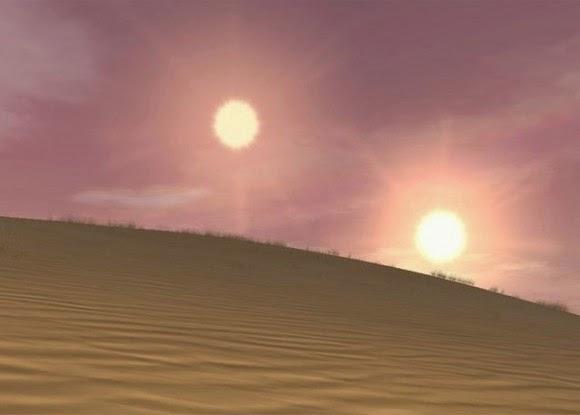 Sebagian Planet Ekstrasurya Mengorbit Bintang Ganda