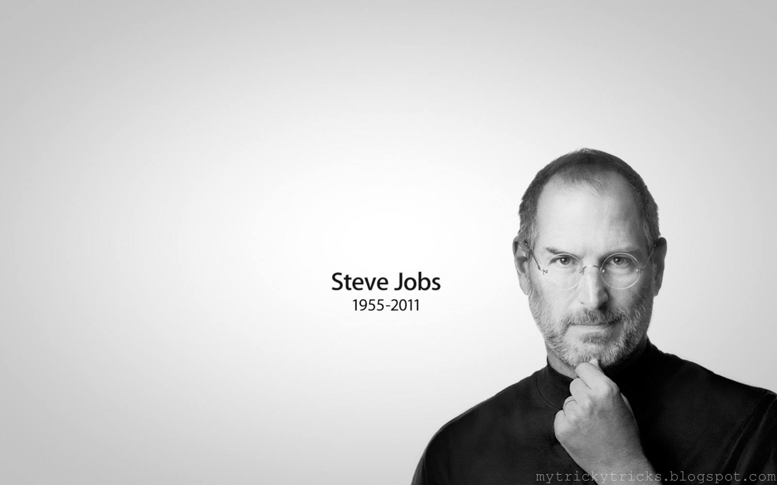 Trickytricks: Steve Jobs Wallpaper : Words of steve jobs
