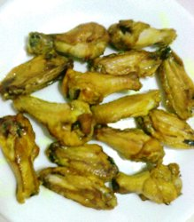 Grilled chicken wings are great for parties. They are relatively easy ...