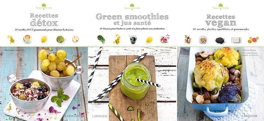 Recettes detox green smoothies recettes vegan code for Livre cuisine detox