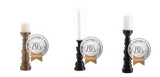 kerajinan tembaga candle holder