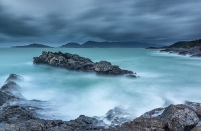 seascapes photography with long exposure