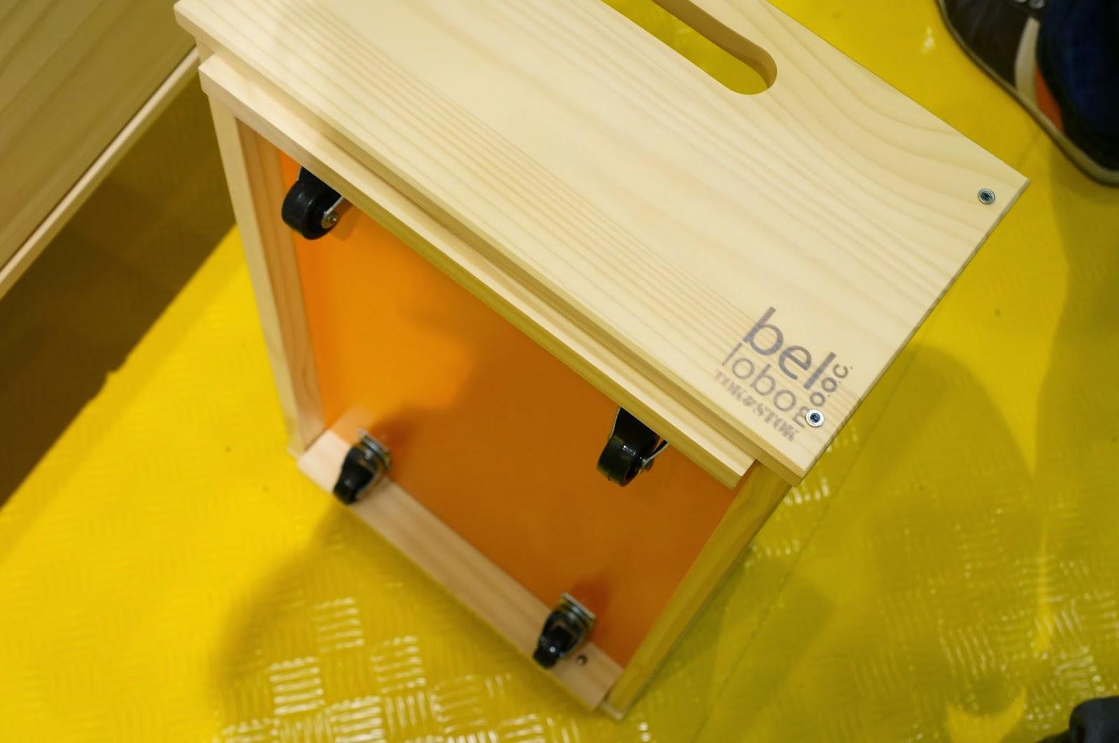 Bel Lobo - Coleção Vira e Mexe - Tok&Stok - caixa organizadora empilhável e com rodízios