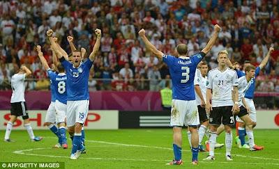 Xem lại đầy đủ trận Italia vs Đức