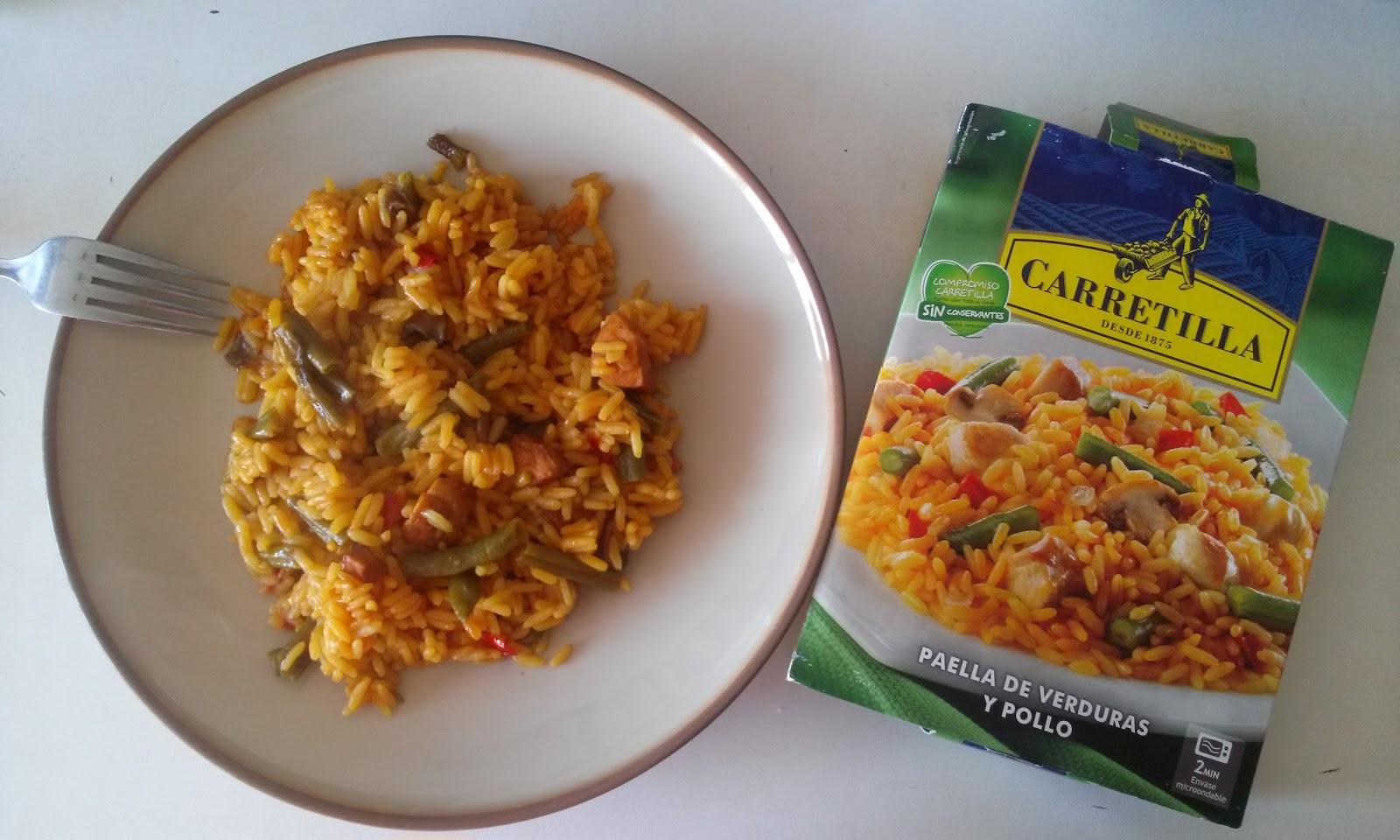 Paella de verduras y pollo carretilla for Como hacer paella de verduras