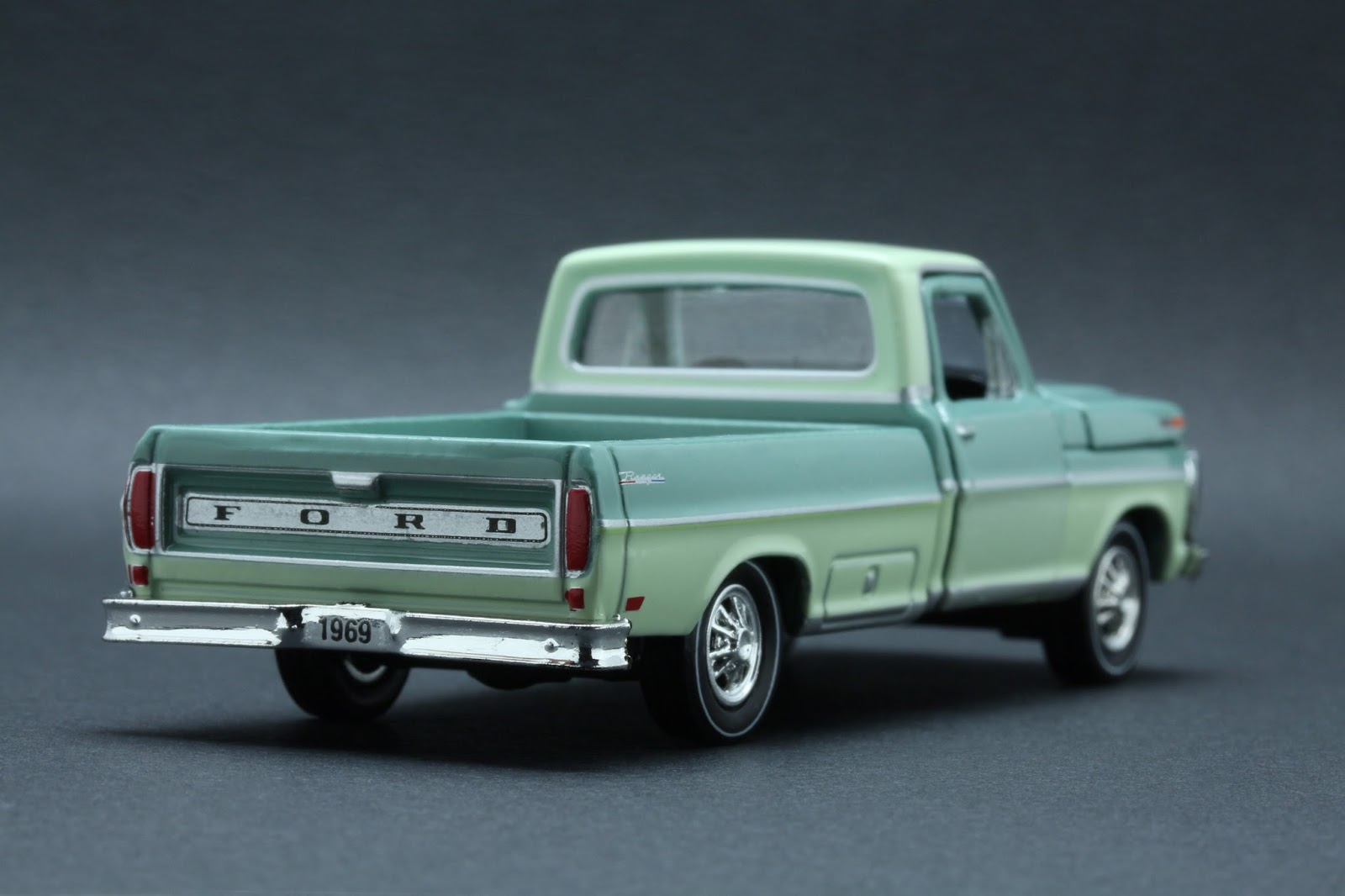 Diecast Hobbist 1969 Ford F 250 Truck Flatbed 164 Scale From M2 Machines Auto Trucks Release 32