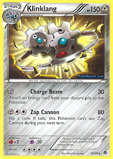 Klinklang Emerging Powers Set Pokemon Card