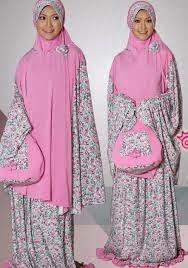 jenis jilbab - model mukena