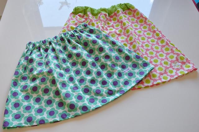 hjemmesyet børnetøj nederdel