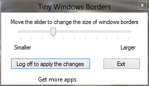 Tiny Windows Borders