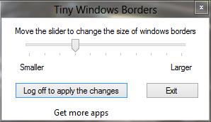 Tiny Windows Borders