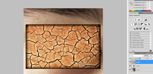 Photoshop Tutorial For Making Cracks In Eyes