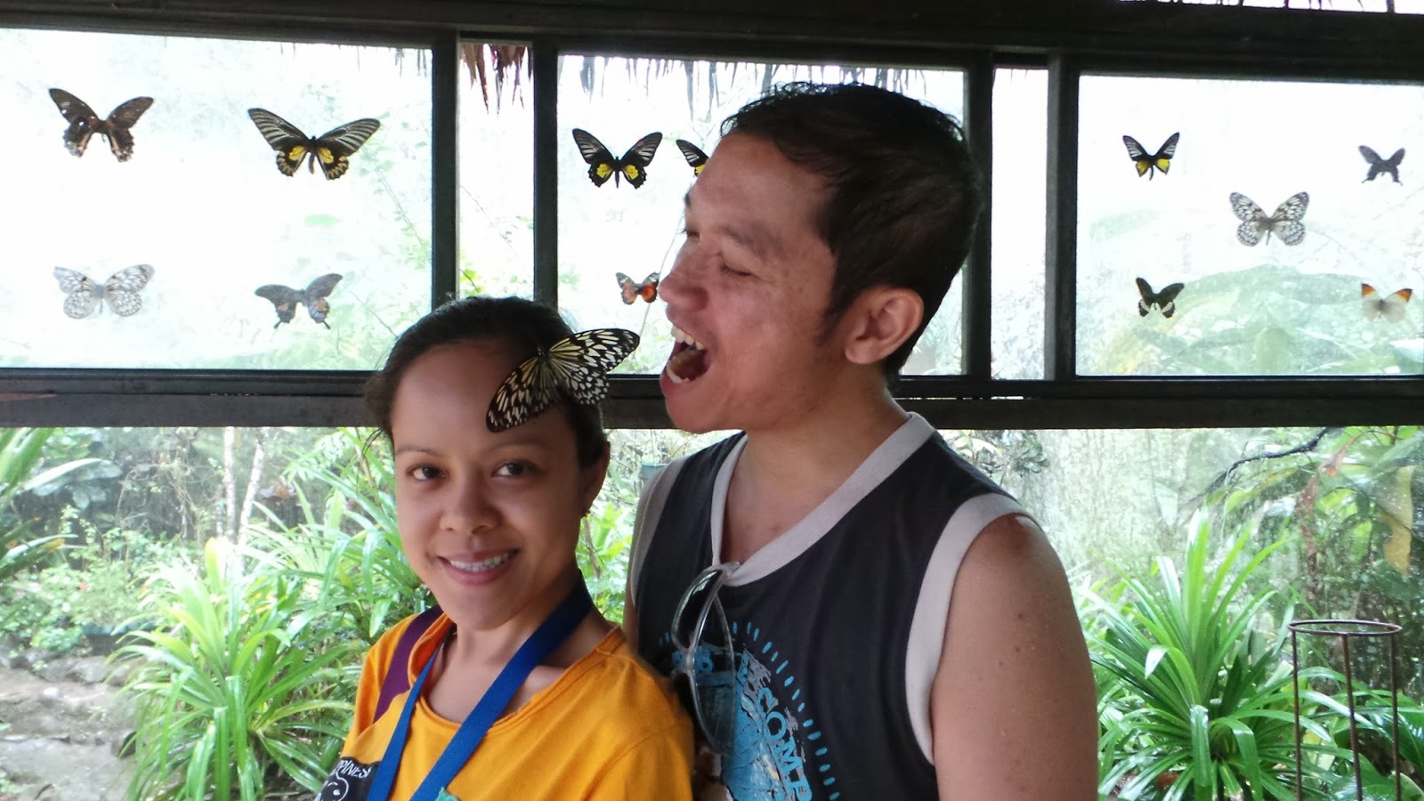 Butterfly Sanctuary, Bohol, by LivingMarjorney