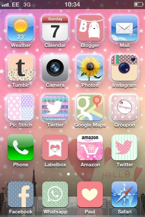 cute iphone themes crazy - photo #30