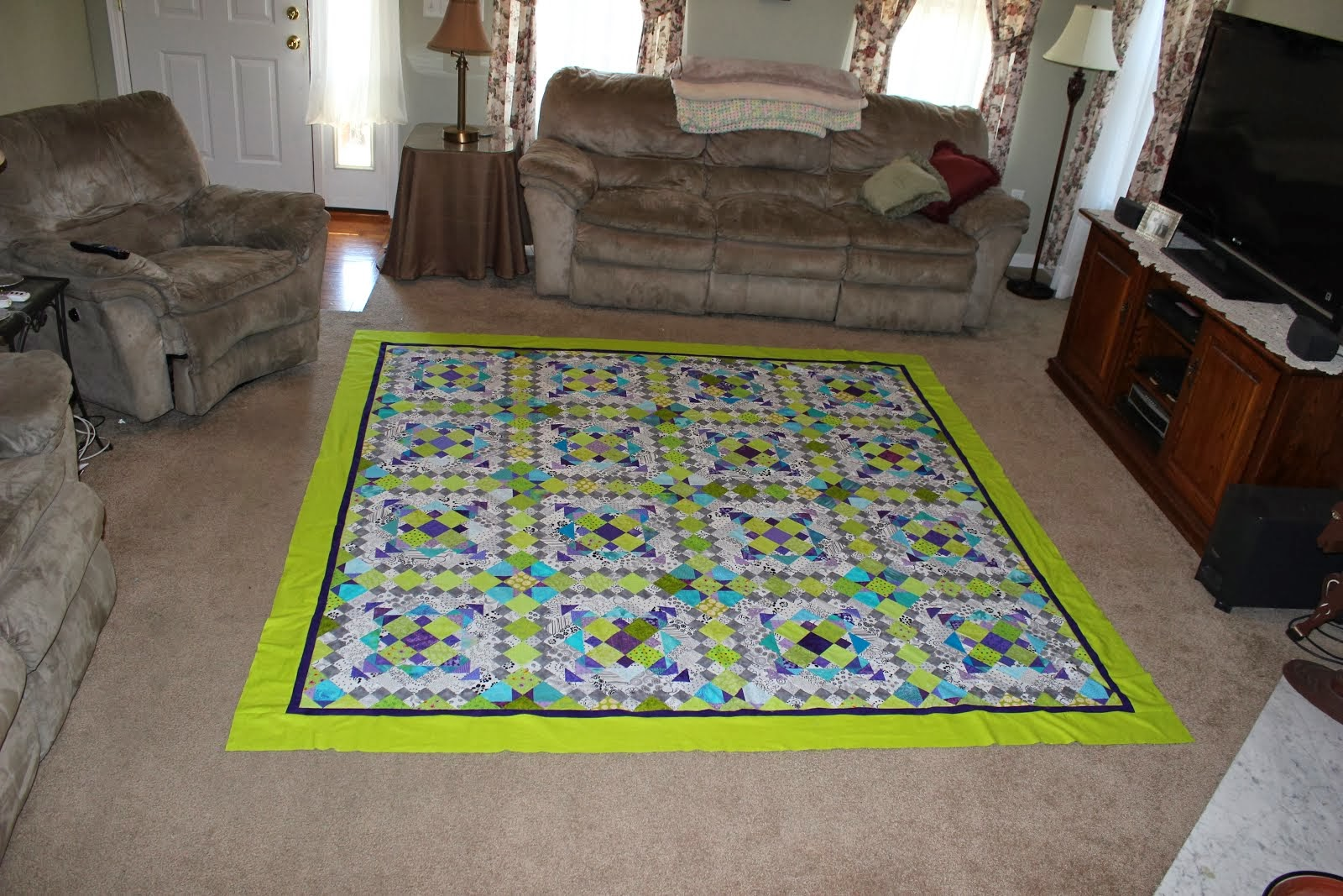 2012 Easy Street Mystery Quilt