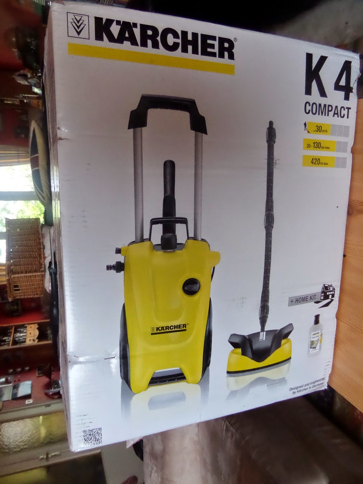 madhouse family reviews k rcher k4 compact pressure washer review. Black Bedroom Furniture Sets. Home Design Ideas