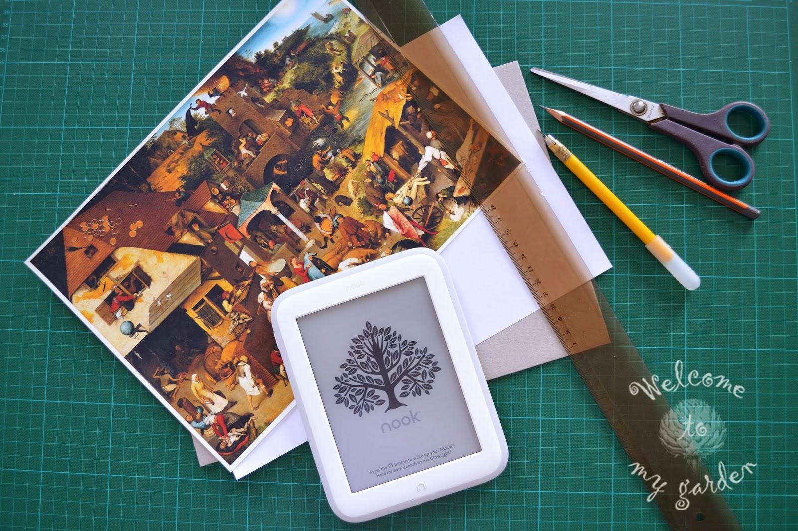 Обложка для электронной книги своими руками мастер-класс
