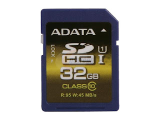 ADATA 32 GB SDHC Card