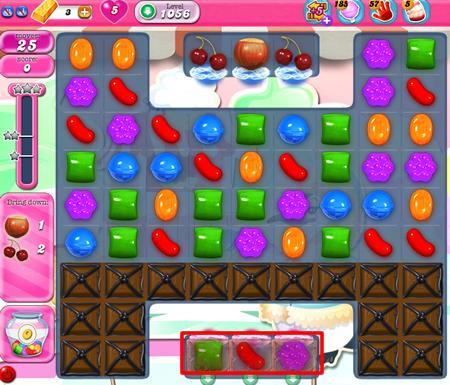 Candy Crush Saga 1056