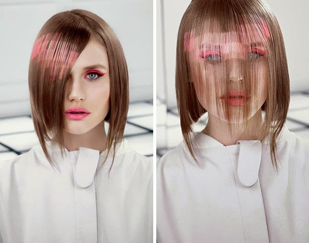 Cabelo pixelizado - cabelo pixel