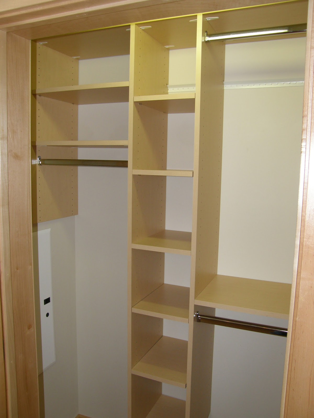 Closets for life ideas for a better coat closet - Bedroom wall closet designs ...