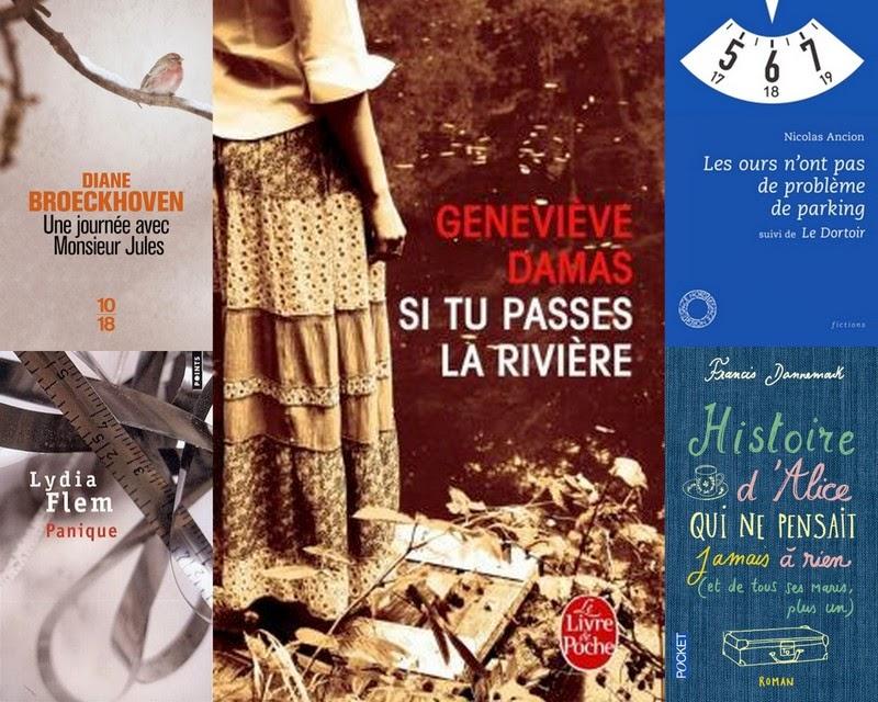 Mosaïque des parutions belges en poche