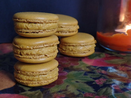 Pumpkin Spiced Latte Macarons