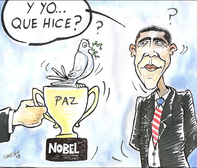 Obama: Premio Nobel de la Paz