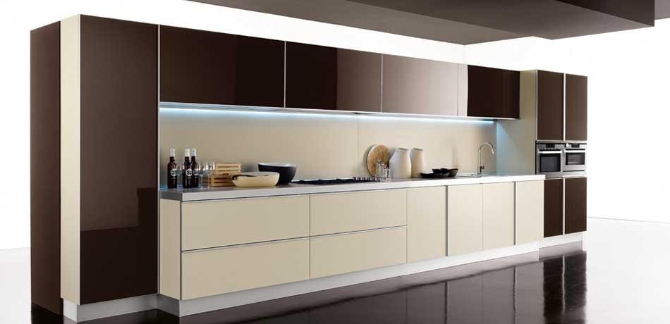 Cocinas lineales grandes y peque as cocinas con estilo for Modelos de cocinas grandes y modernas