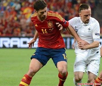 Cuplikan Video dan Hasil Pertandingan Spanyol vs Prancis 1-1 17 Oktober 2012