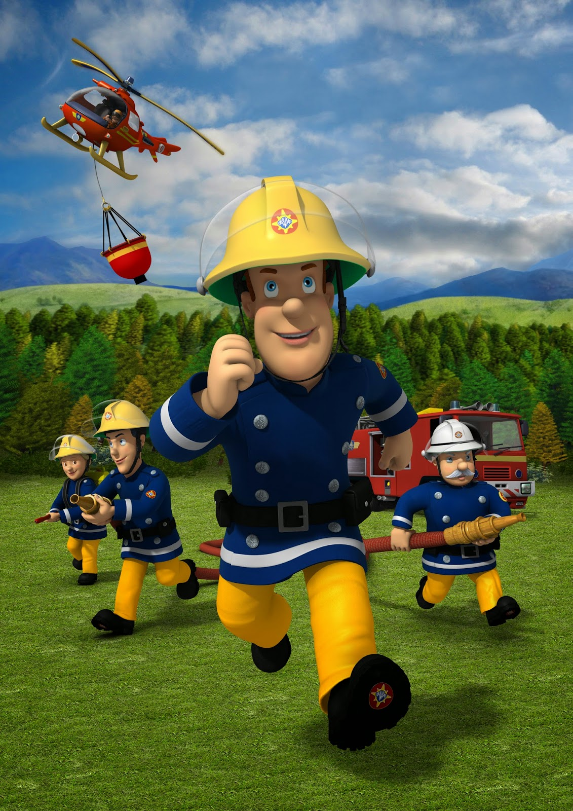 It's just an image of Divine Fireman Sam Pic