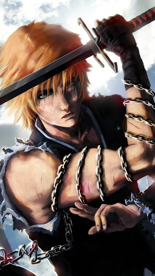 Bleach Anime Series   Galaxy Note HD Wallpaper