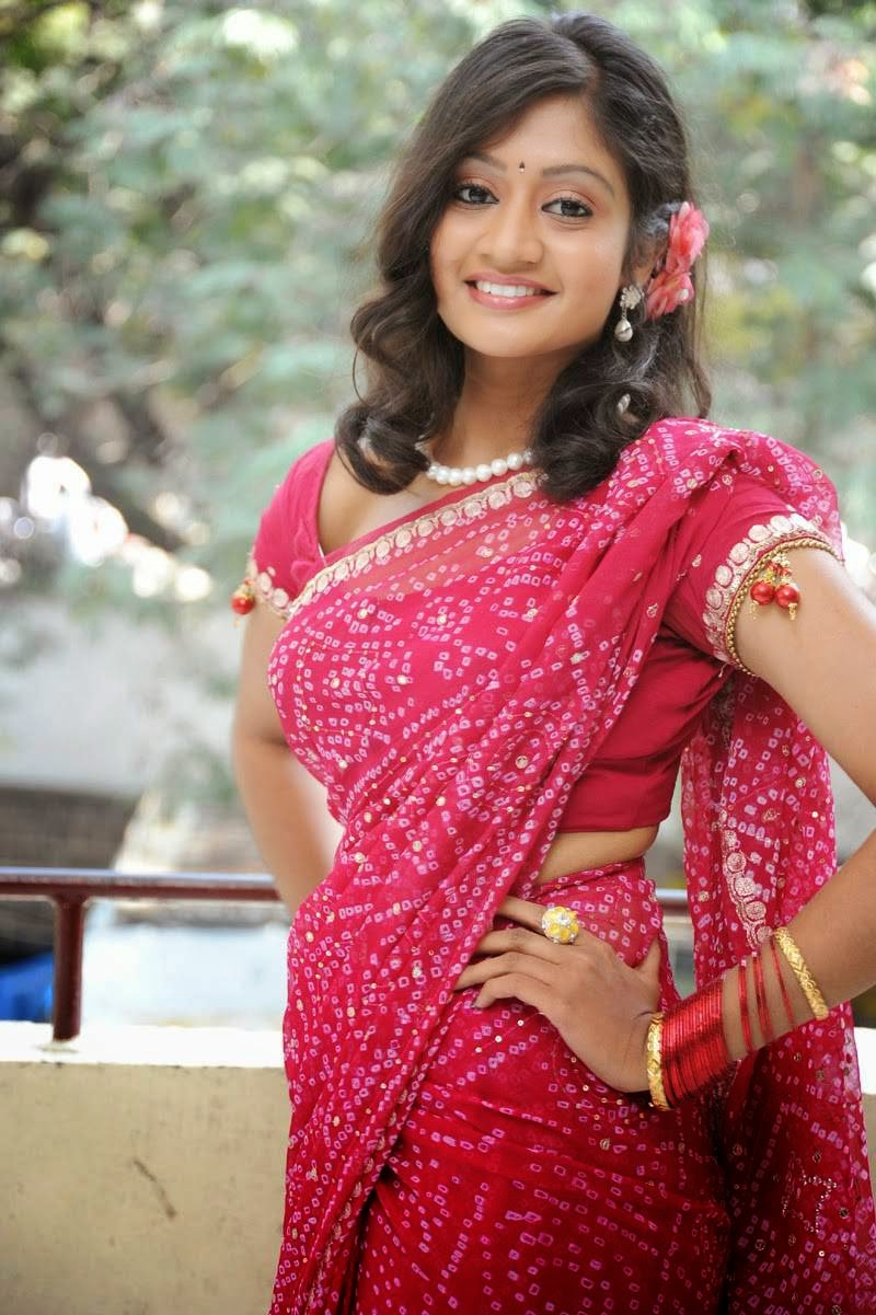 Sandeepthi at Sri Vasavi Kanyaka Parameswari Charita Movie Press Meet